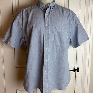 Eddie Bauer button down short sleeve shirt